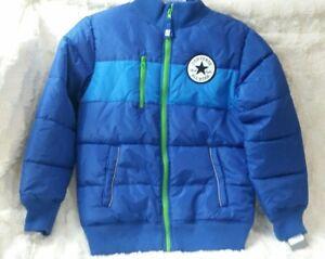 de1e932e4a43 Converse Boys KidsAll Star Chuck Taylor Puffer Parka Jacket sz M 10 ...