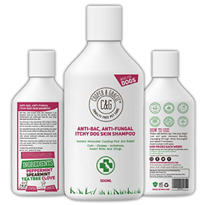 C&G Pets | Dog Shampoo For Itchy Skin Antibacterial And Antifungal | 100% Low |