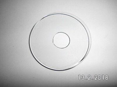 klar Wachsfänger Kerzenmanschette Tropfenfänger Tropfschutz aus Glas Standard