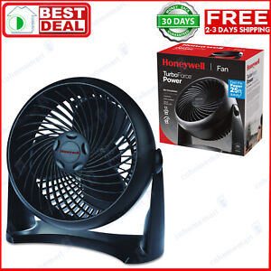 TurboForce-Air-Circulator-Fan-Honeywell-HT-900-Black-Speed-Small-Rooms-Turbo