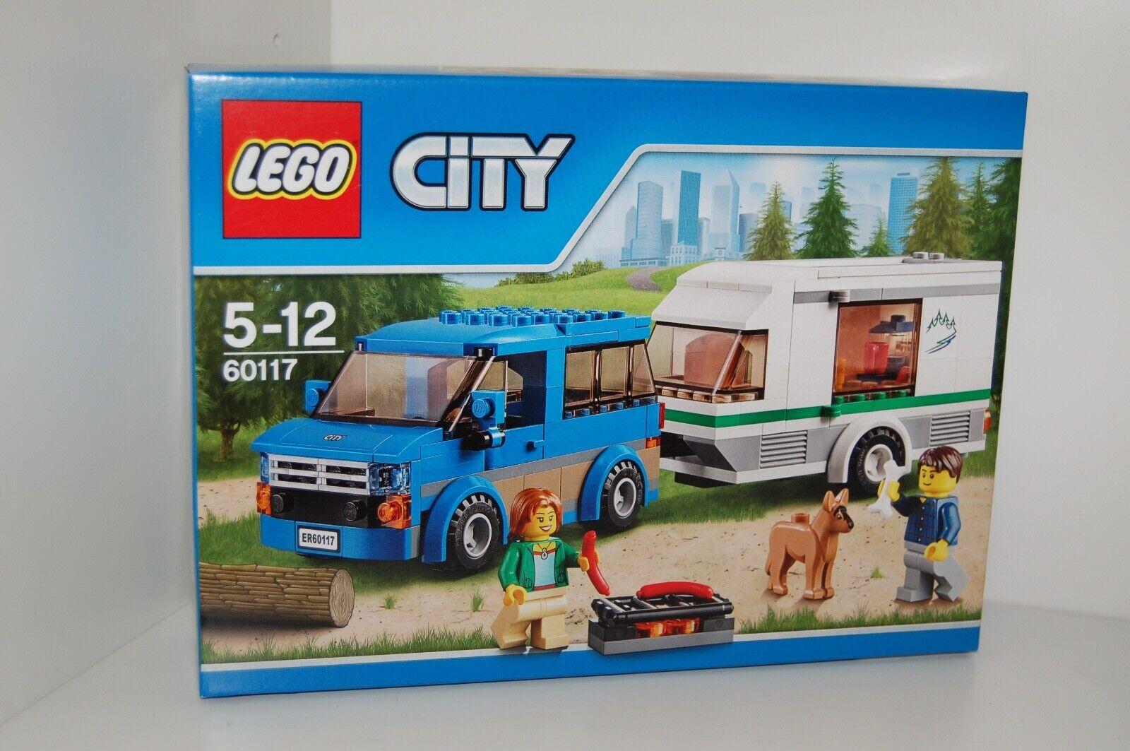 Lego City 60117 Van & & & Caravane NOUVEAU  S'adapte à 60057,60182,60181,60149,60150 8d6475