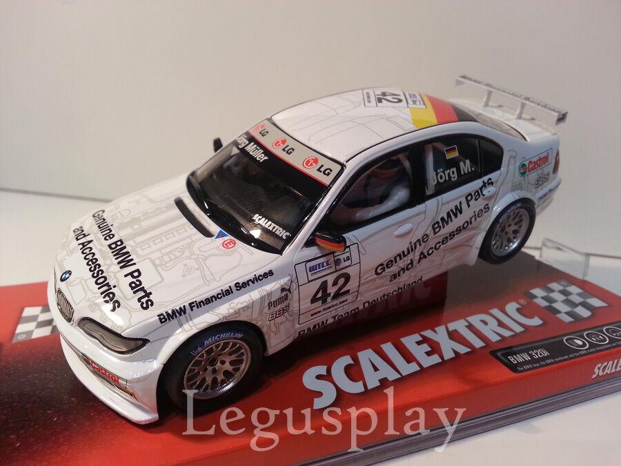 Slot SCX Scalextric 6197 BMW 320i    WTCC  Jörg Müller Nº42  punto de venta