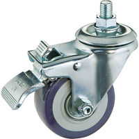 3 Casters, Total-lock Swivel (stem Mount) on sale