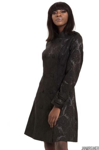 Jawbreaker Womens FUBAR Coat Coat Alternative Gothic