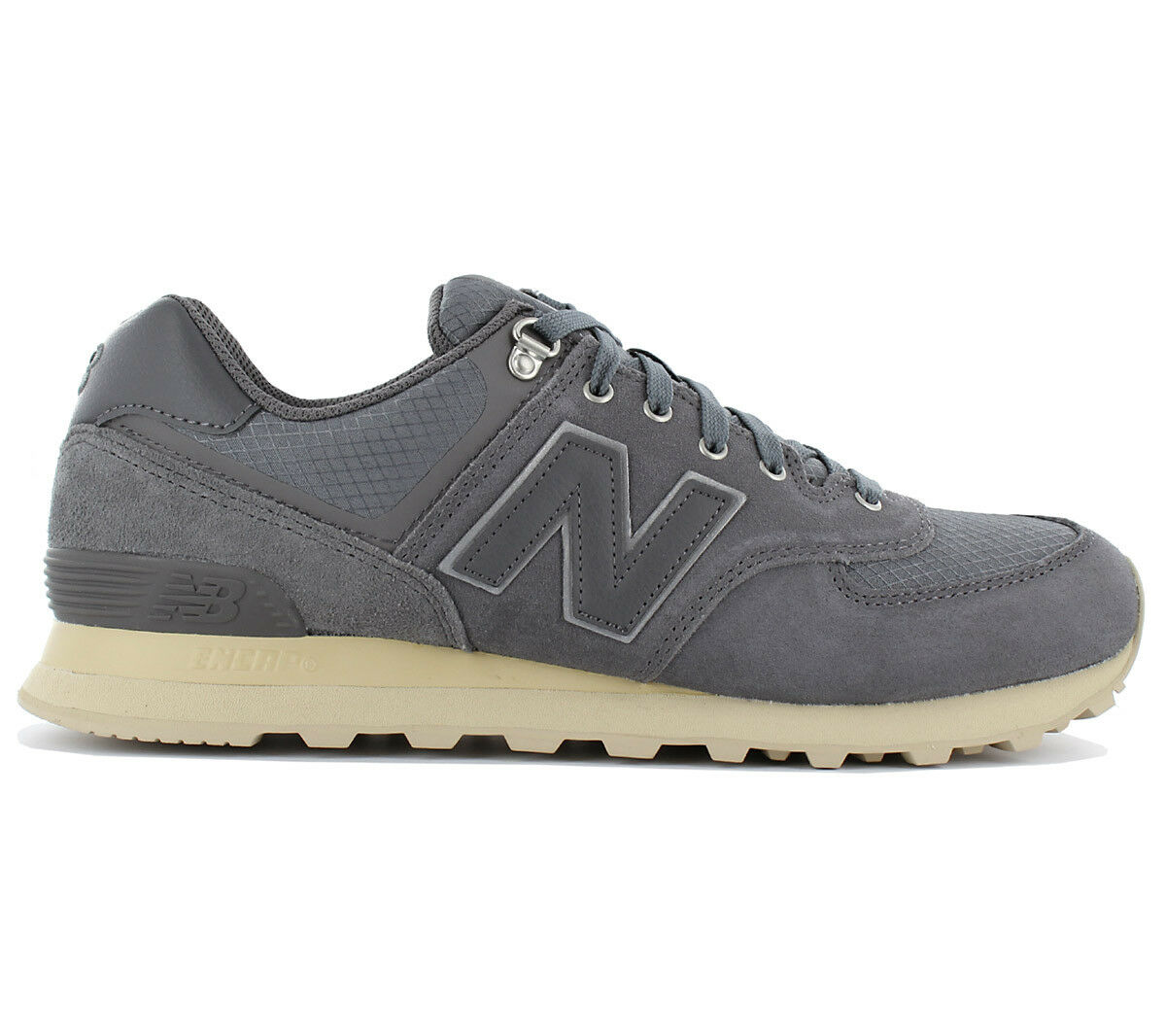 New balance 574 sneaker - klassiker ml574pkq männer schuhe, graue trainer ml574pkq klassiker ml574 e86def