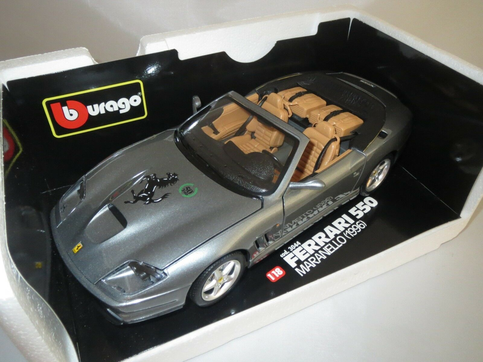 Maranello Bburago 1996 Base Ferrari Conversión De KJclF1