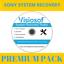 SONY-System-Recovery-Boot-Repair-Restore-CD-DVD-Windows-10-8-7-Vista-XP 縮圖 1