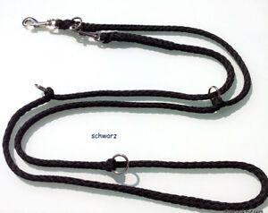 elropet-Hundeleine-2-80m-4x-verstellbar-Doppelleine-schwarz-Umhaengeleine