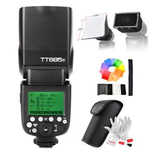 Godox TT685F 2.4G TTL Camera Speed Flash for Fujiflim DSLR+ Accessories+ Gift