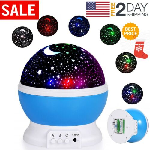 TOYS FOR BOYS 2 10 Year Old Kids LED Night Light Star Constellation Xmas Gift