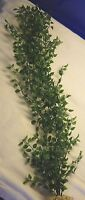 Artificial Aquarium Plant W/ Stone Base – 27 Large Pea Leaf (not Wired)