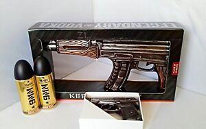 Vodka Kalashnikov Ak 47 Und Pistole Wodka Pm Mit 9mm Energy Drink