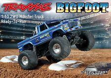 Traxxas 1:10 BIGFOOT #1 Electric RC Monster Truck w/ XL-5 ESC RTR TRA360341