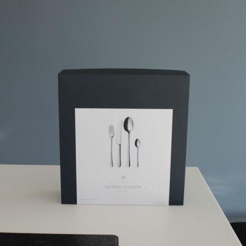 Georg Jensen 24 pcs 3640524 Copenhagen Cutlery // Flatware Set Stainless Steel