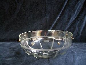 VINTAGE-EUROPEAN-5-7-8-034-CRYSTAL-GLASS-BOBECHE-8-PIN-HOLE-CANOPY-1