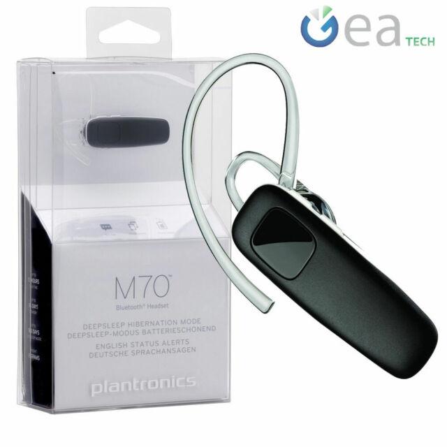 Plantronics Headset Bluetooth M70 Multipoint Deepsleep Black Universal For Sale Online Ebay