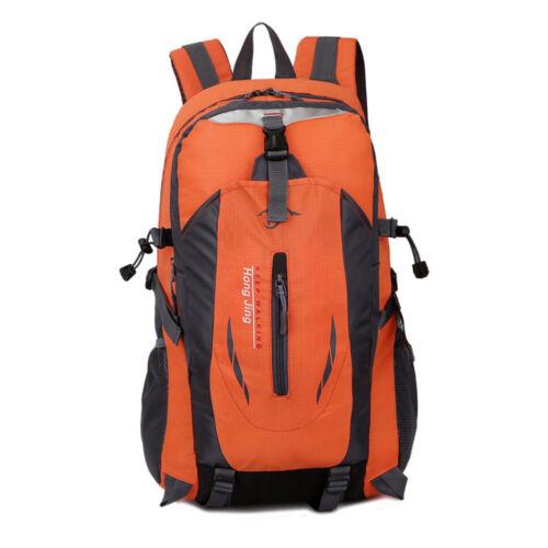 45L Large Mens Womens Waterproof Backpack Rucksack Hiking Camping School Bag UK