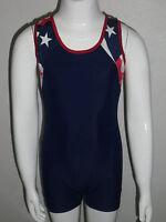 Patriotic Gymnastics Leotard For Boys