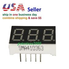 """10x1.0/"""" 7 Segment 1 Digit 10pin common anode red LED digital display for Arduino"""