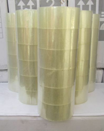 "6 ROLLS 2/"" X 330/'CLEAR SEALING PACKING PACKAGING TAPE"
