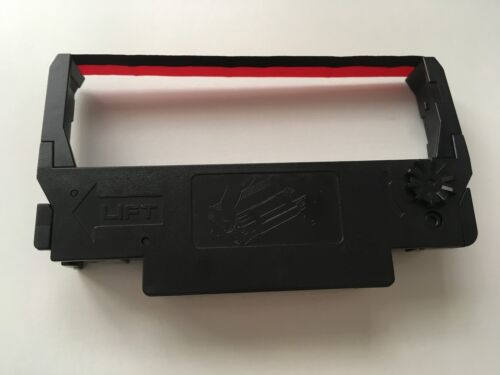 ERC 30 34 38 inchiostro Epson Nastro Cassette 10 X Nero//Rosso