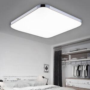 led deckenleuchte badleuchte ip44 deckenlampe k che wohnzimmer kaltweiss 36w ebay. Black Bedroom Furniture Sets. Home Design Ideas