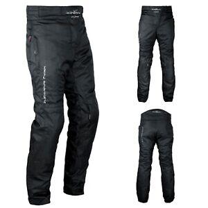 Pantaloni-Donna-Moto-Cordura-Lady-Protezioni-CE-Sfoderabile-Impermeabile