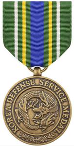 Vanguard MINIATURE MEDAL KOREA DEFENSE SERVICE MEDAL