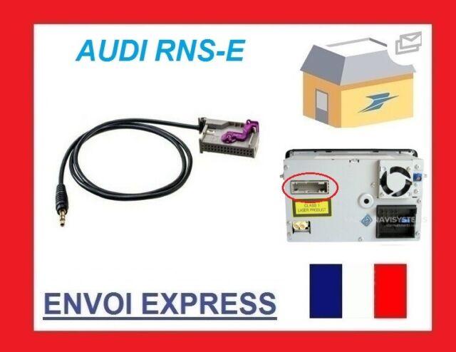 Audi TT Navigation Plus Aux Auxiliary Input Adaptor Lead Cable Genuine Plug