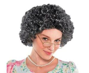 Granny-Curly-Old-Lady-Costume-Ladies-Wig