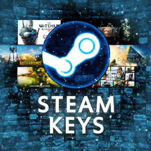 50 Random Steam Keys Games - Including PREMIUM KEYS ...