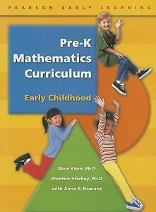 Pre K Mathematics Curriculum By Alice Klein Prentice Starkey And