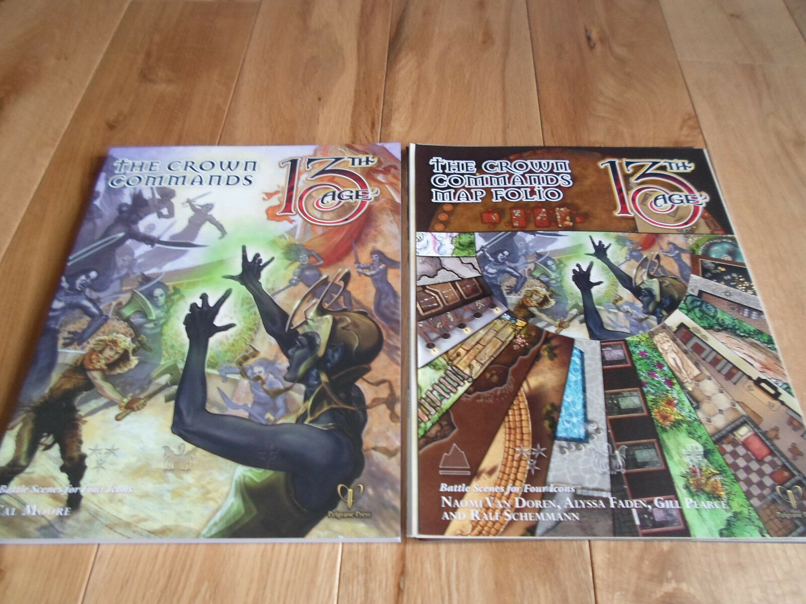 13th Age The Crown Commands + Map Folio (MINT)