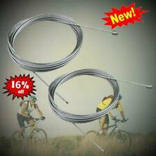 2X Stainless Bike Bicycle Derailleur Shift Shifter Cable Inner Wire M4H3
