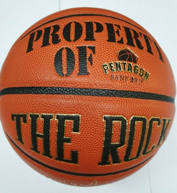 Anaconda Sports The Rock Basketball Intermediate Official Size Black//Red