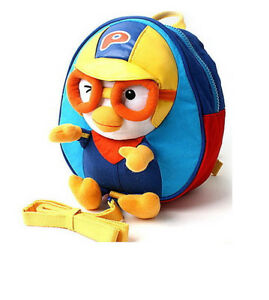 Pink Pororo Toy Character kids Backpack Bag