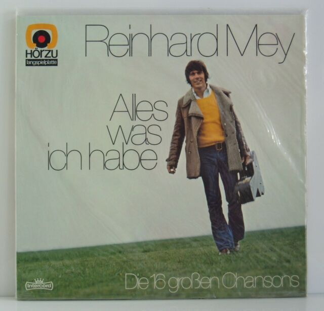 LP Reinhard Mey Alles was ich habe Die 16 großen Chansons Hör Zu 1973 neu & ovp