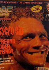 WWF Magazin Dezember 12/96 WWE Wrestling deutsch Sid Bret Hart