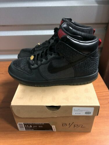 "Used Nike Dunk High SB ""Mighty Crown"" Size 11.5"