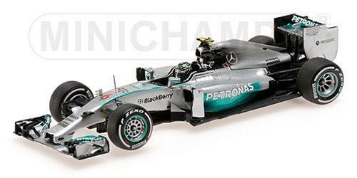 Mercedes Amg Petronas F1 W05 Nico Rosberg 2014 Minichamps 1 43 410140006