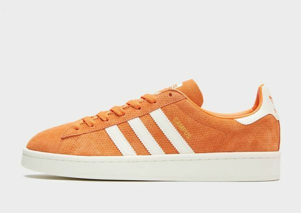 Adidas Originals Campus naranja Suede Leather (UK 8) New in Box
