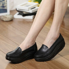 f4fe4771c68a item 4 Women High Platform Shoes Shape Ups Toning Fitness Sport Sneakers  Slip On Comfy -Women High Platform Shoes Shape Ups Toning Fitness Sport  Sneakers ...