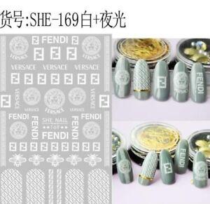 trendy nail art decoration sticker 2021 2/each design