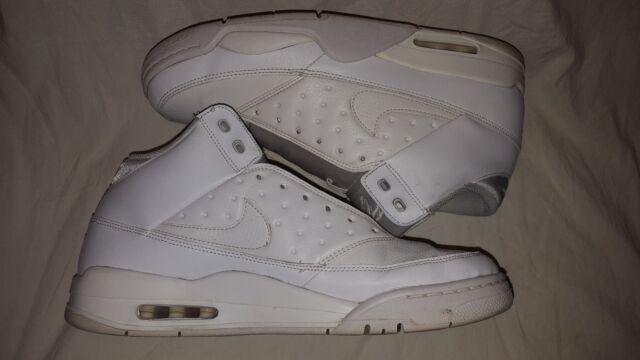 buy popular 903e7 c89e9 NIKE Mens Air Flight Classic Basketball Shoe White White White 12 US 414967-