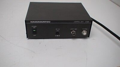 Hamamatsu C5489 Camera Control Unit Beam Finder Iii Thermal Camera Controller Firm In Structure Hats