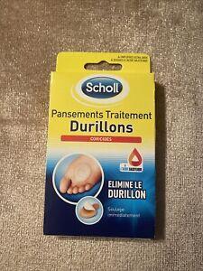 Scholl 4 Pansements Traitement Durillons Coricides