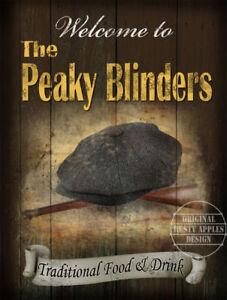 THE-PEAKY-BLINDERS-VINTAGE-TRADITIONAL-ENGLISH-METAL-PUB-SIGN-MEDIUM-LARGE-SIZE