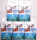 (Lot of 5) HP Zink Photo Paper Sprocket *100 Sheets Total* 1AH01A 2