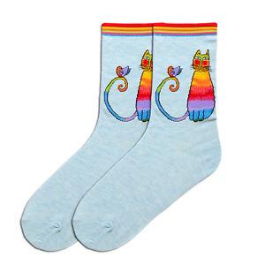 K Bell Women/'s Crew Socks I Am Always Right Blue