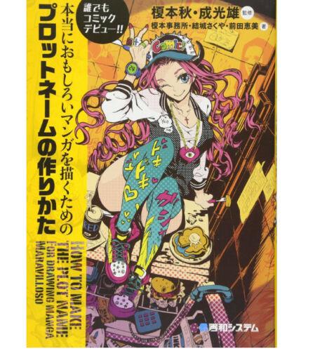 How to Draw  Plot name プロットネームの作りかた 207P Manga Doujinshi F//S Japan Anime